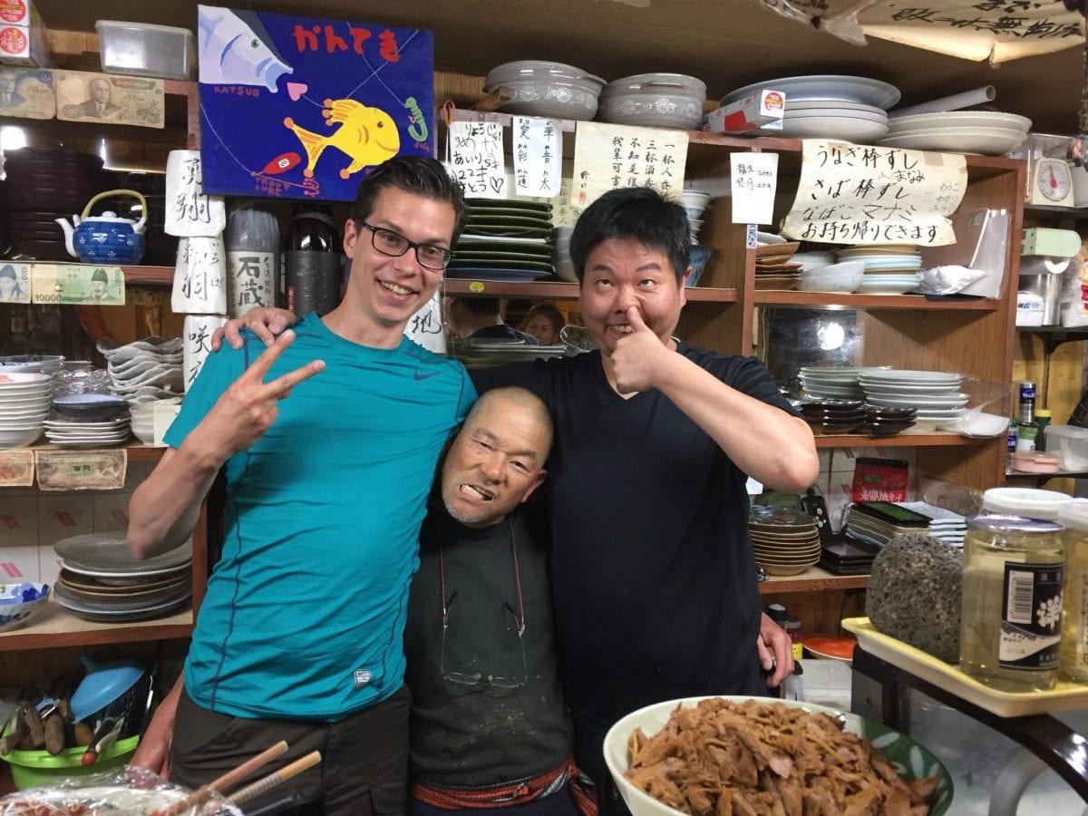 Omakase in Kanteki in Tanabe in Japan