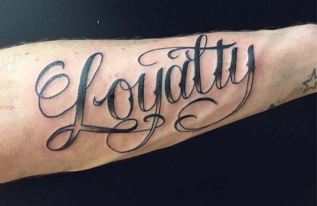 Loyalty tattoo