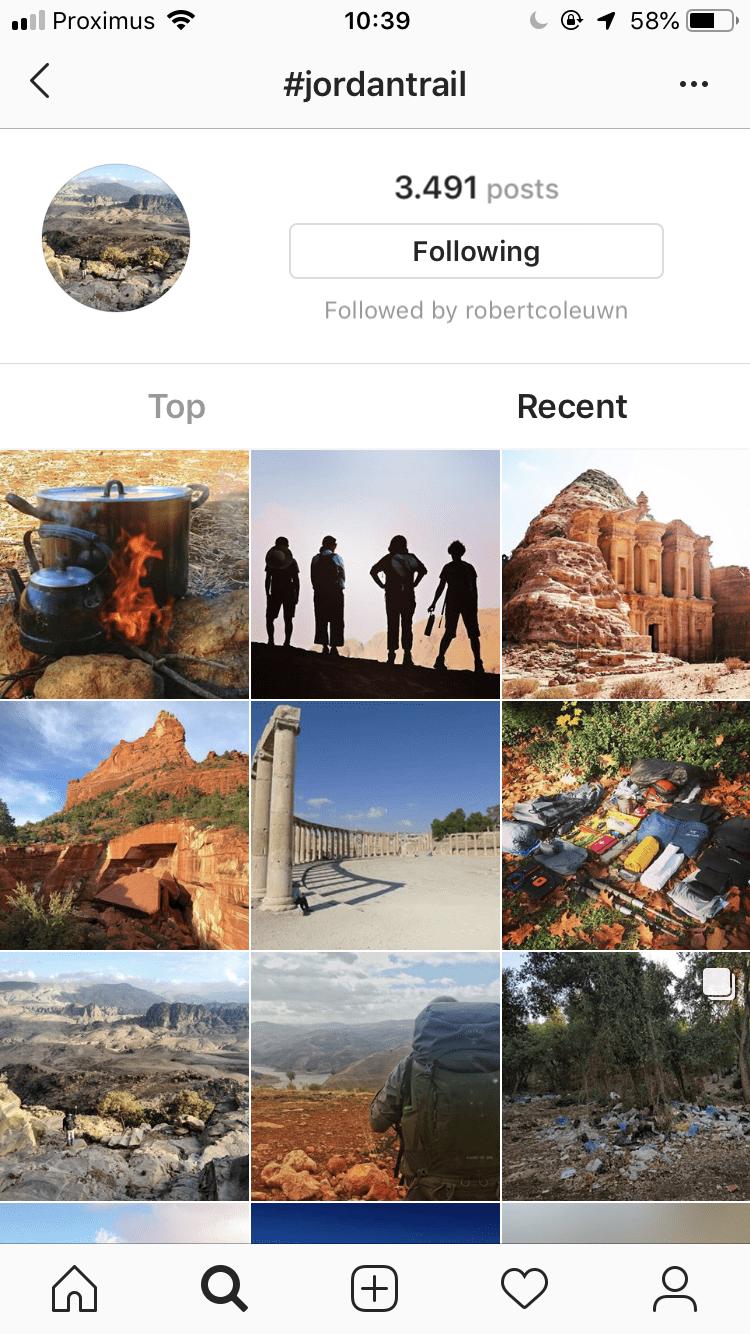 Instagram #jordantrail