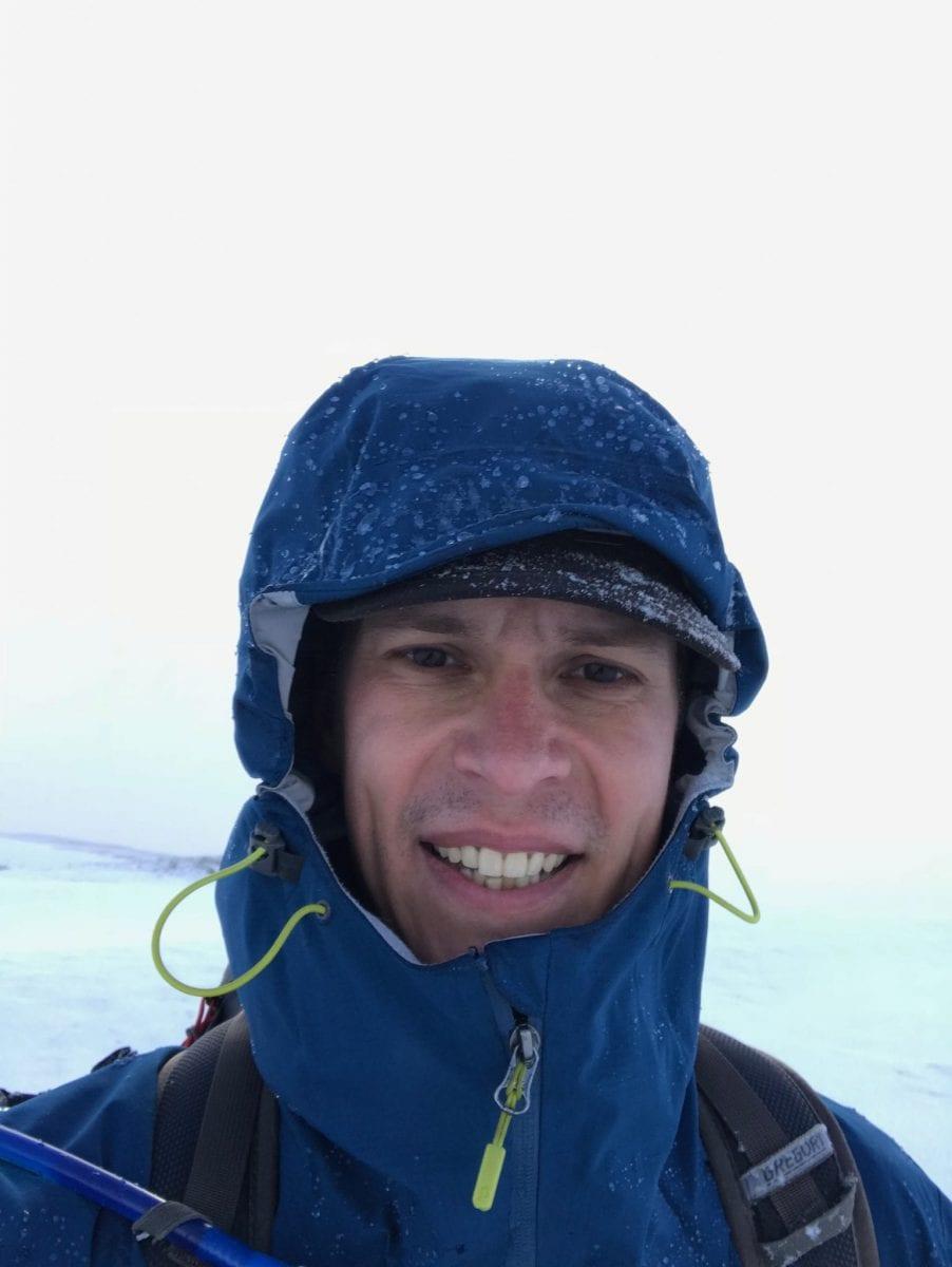 Snow on Laugavegur trail