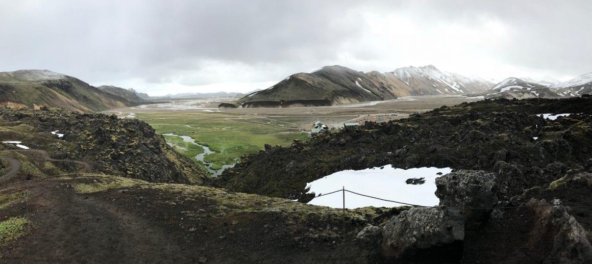 View over Landmannalaugar