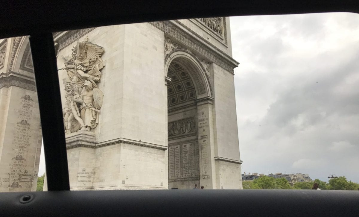 Paris by Uber - another alternative ... but really?!