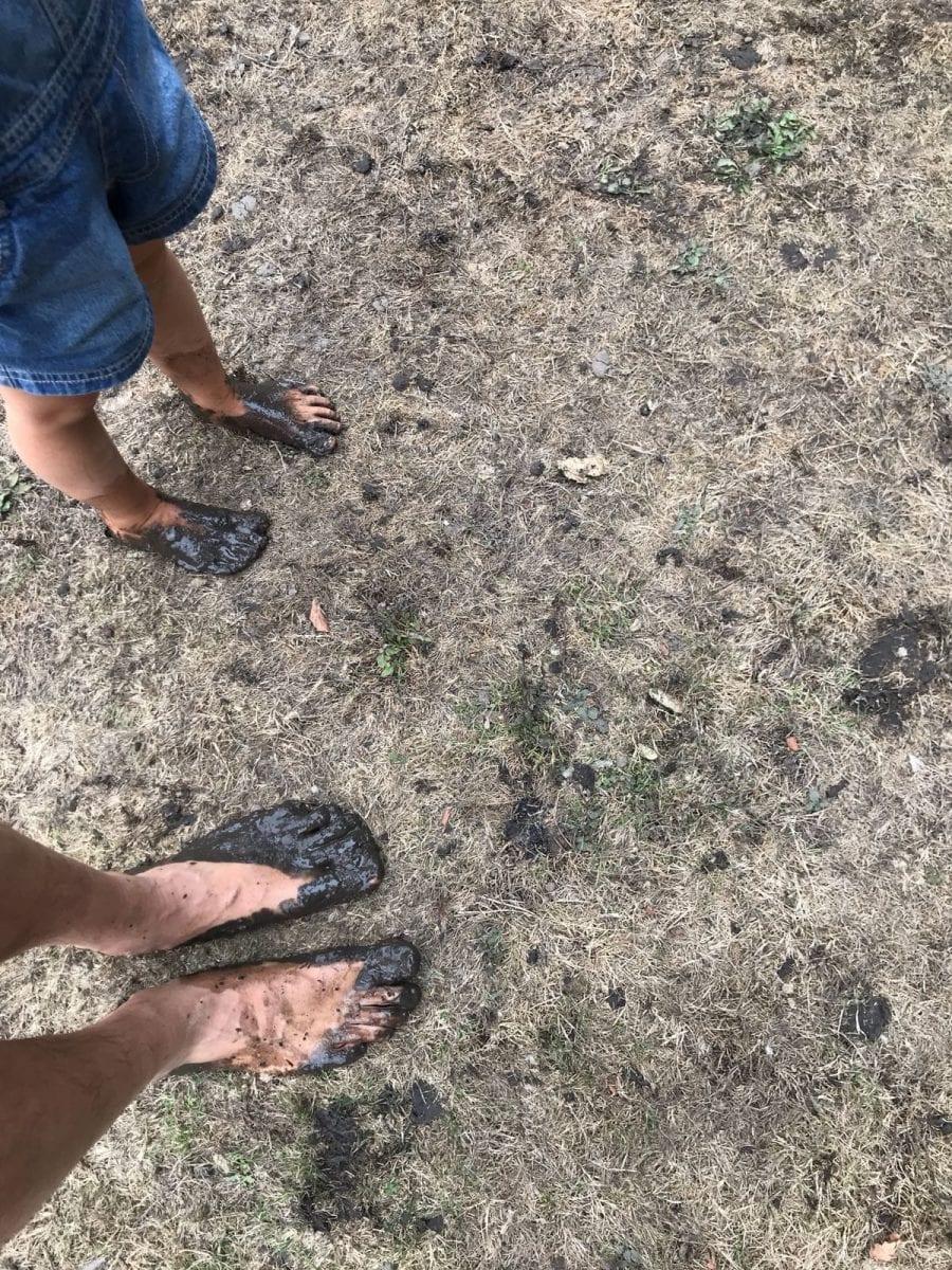 Wonderweekend - bare feet
