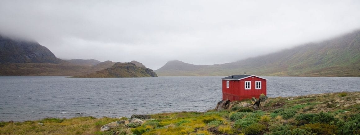 Lake House on the Arctic Circle Trail. Photo by Phoebe Smith