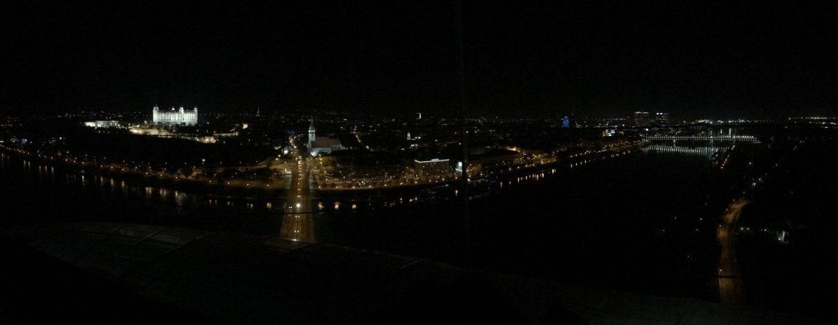 Bratislava by night