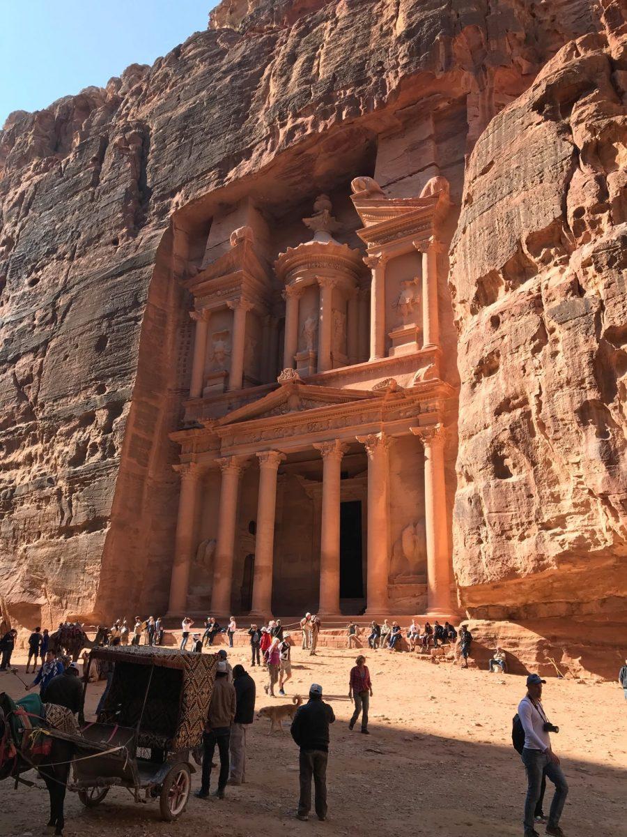 Jordan Trail through Petra