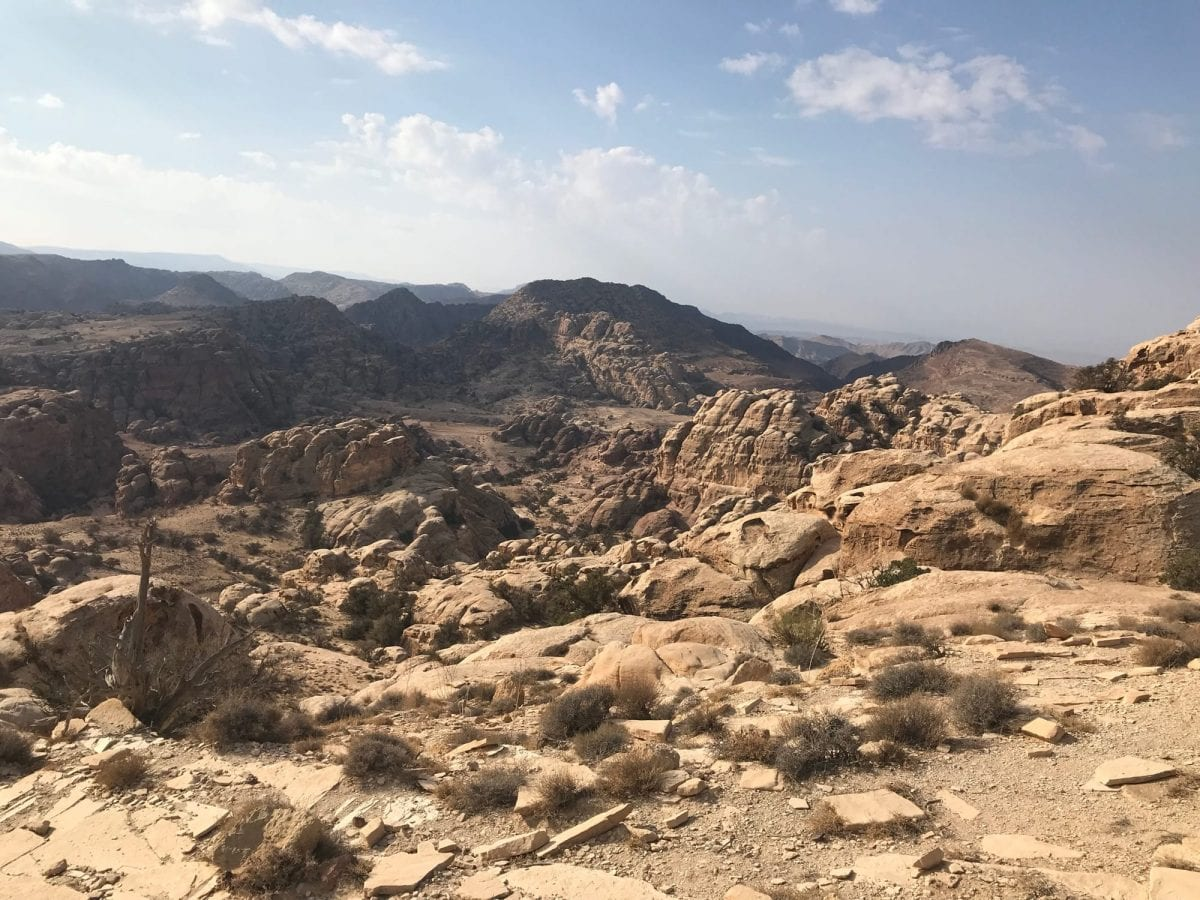 Views on the Jordan Trail