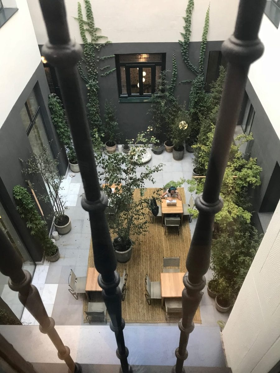 One shot fortuny hotel madrid oasis in busy madrid omakases - One shot hotels madrid ...