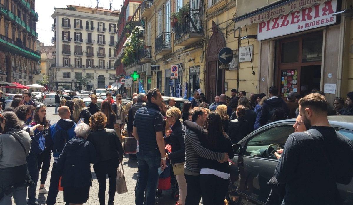 Pizza Da Michele in Naples
