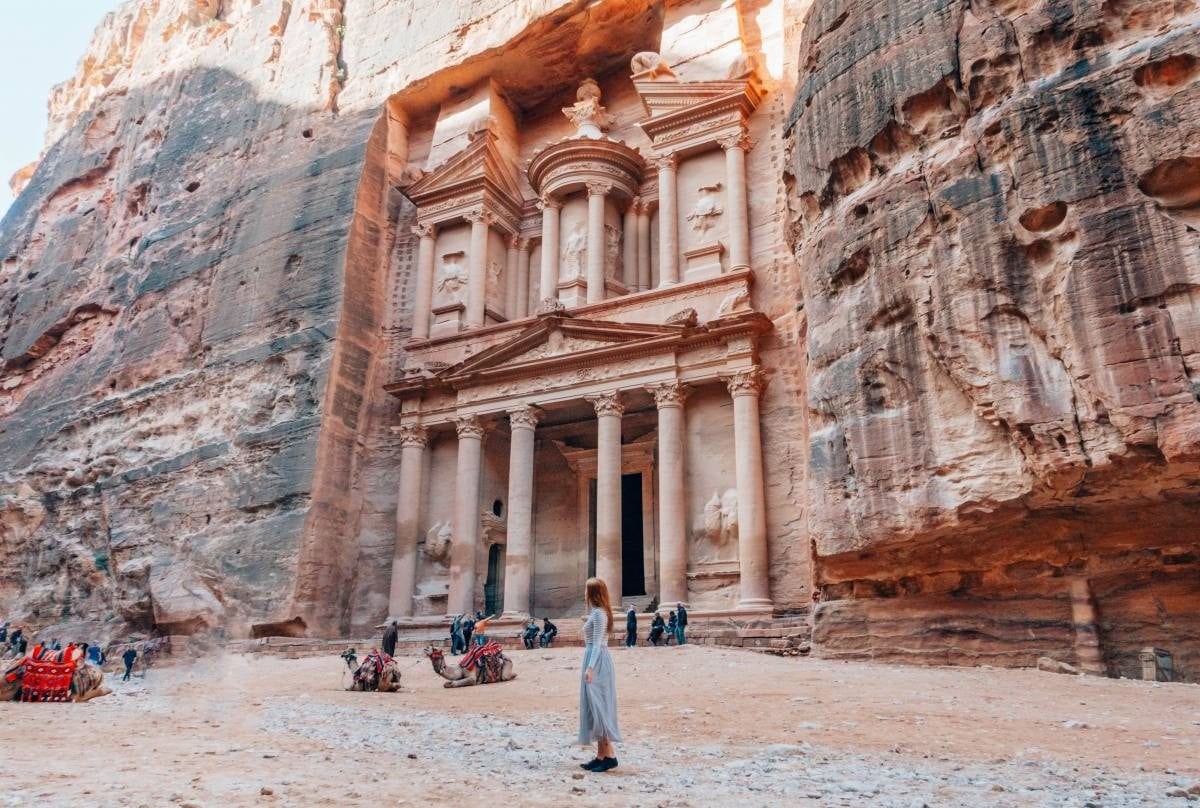 Petra in Jordan - Photo by Anna Everywhere