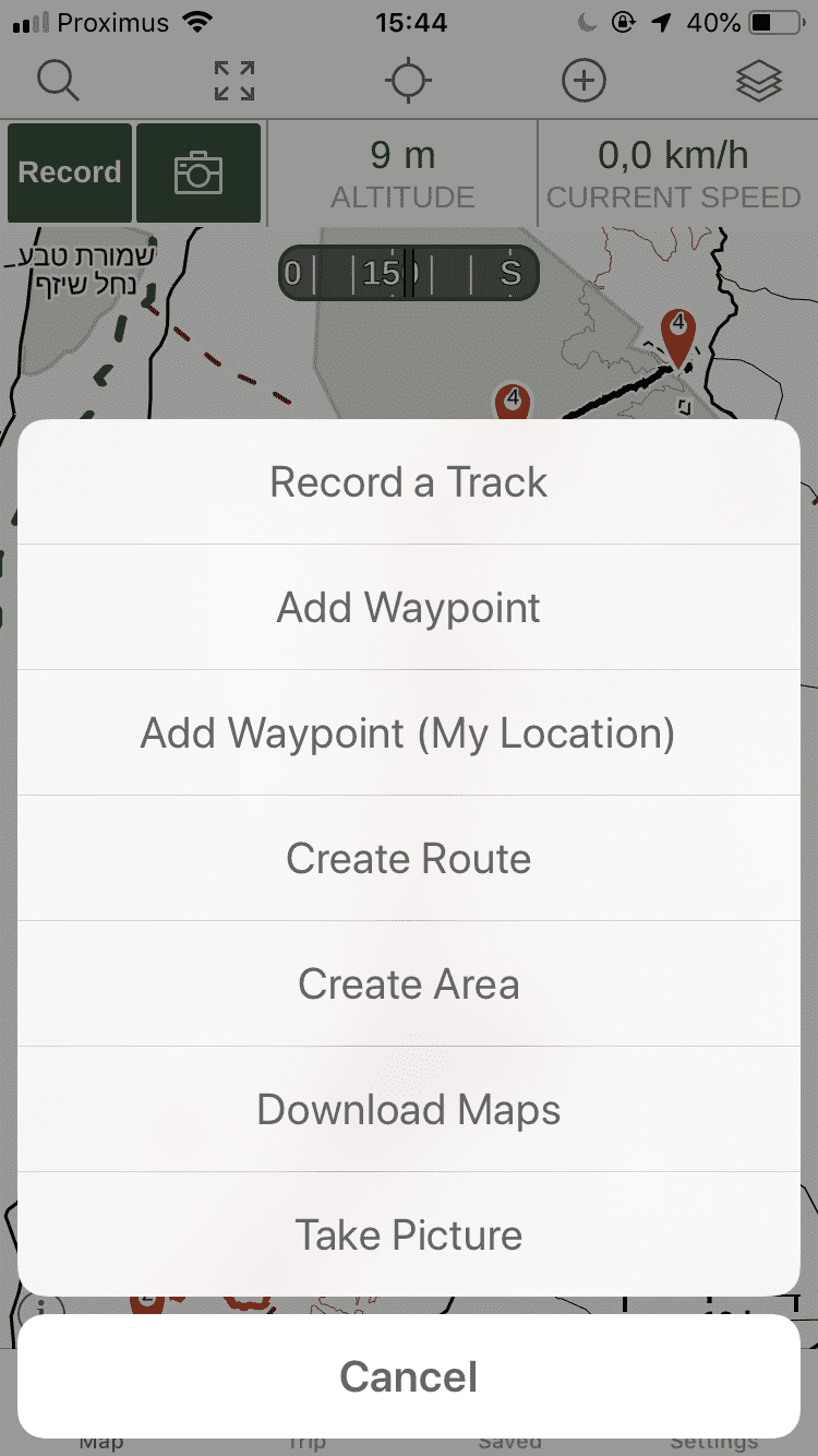 GPS Navigation on your phone - download maps for offline in Gaia GPS