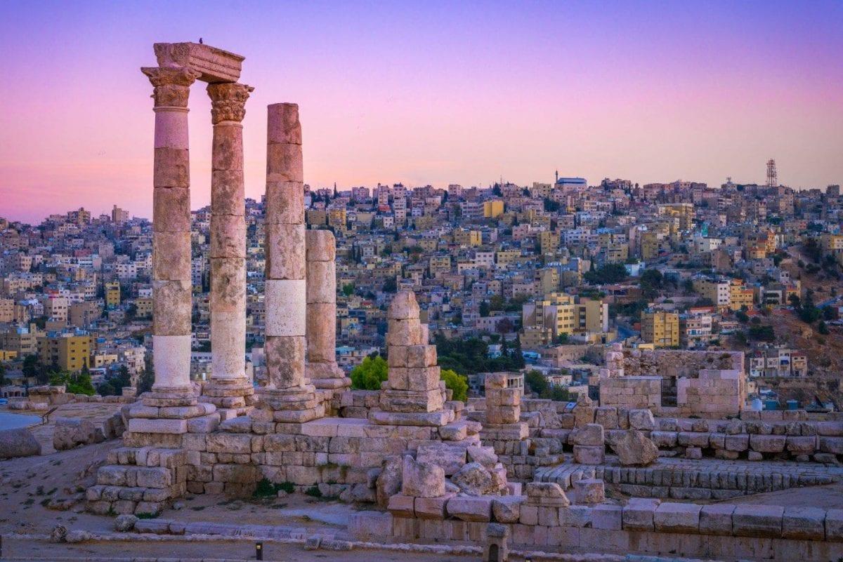 Ruins in Amman - Photo by Shutterstock