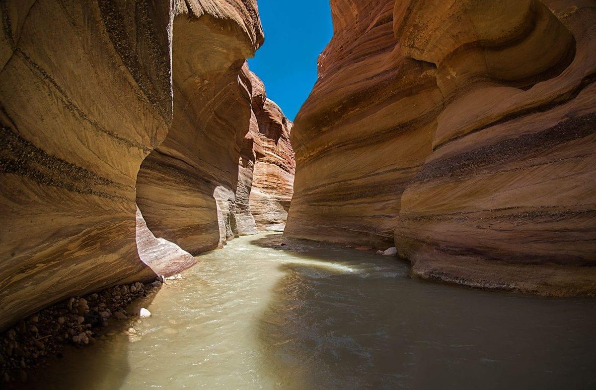 Wadi Hissa in Jordan