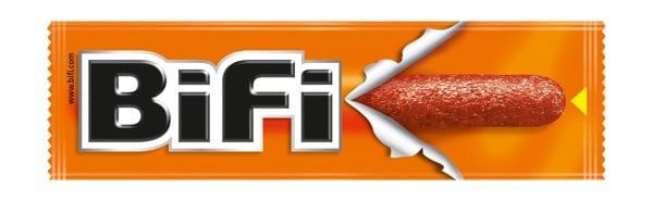 Food on the trail - Bifi sausage