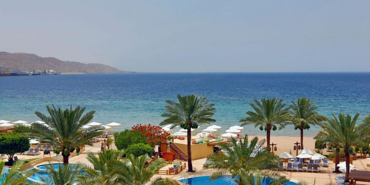 Intercontinental Aqaba - Soooo looking forward to this after my hike