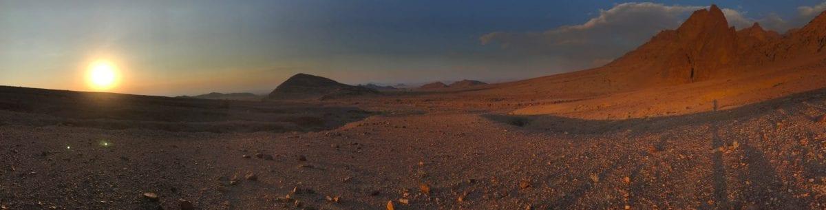 Desert at the Jordan Trail