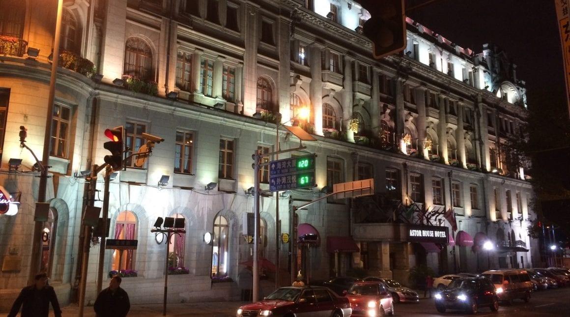 Astor House Hotel in Shanghai