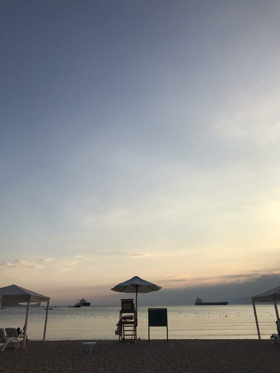 Sea view at the InterContinental Aqaba (Resort Aqaba)