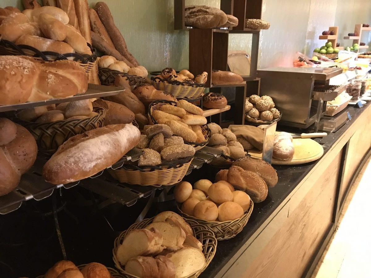 Bread at breakfast at the InterContinental Aqaba (Resort Aqaba)