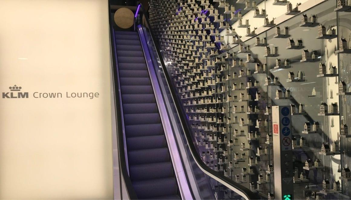 KLM Lounge Entrance