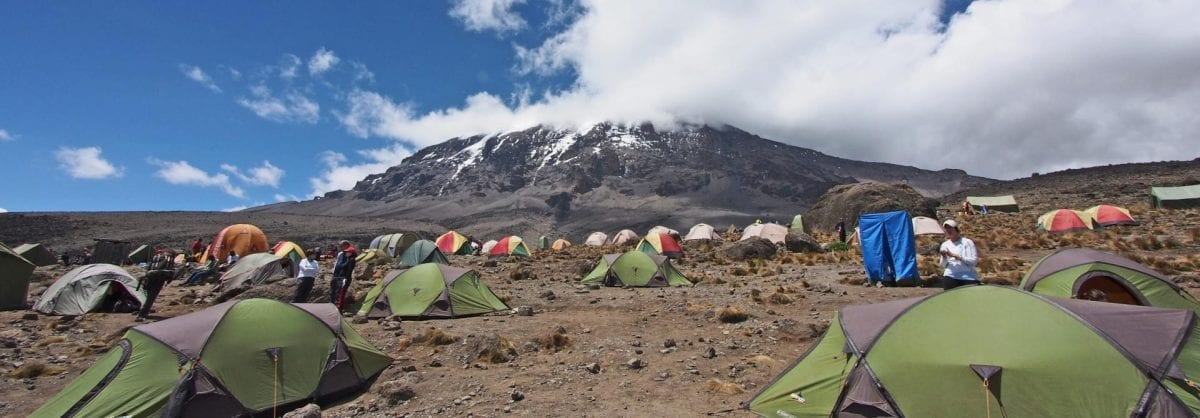 Kilimanjaro Lemosho camp