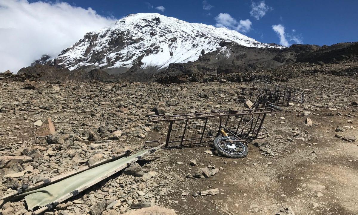 Aid on Mount Kilimanjaro