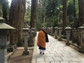 Monk in Koyasan