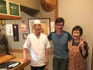 Shirahama sushi place