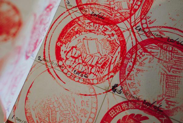 Kumano Kodo Stamps