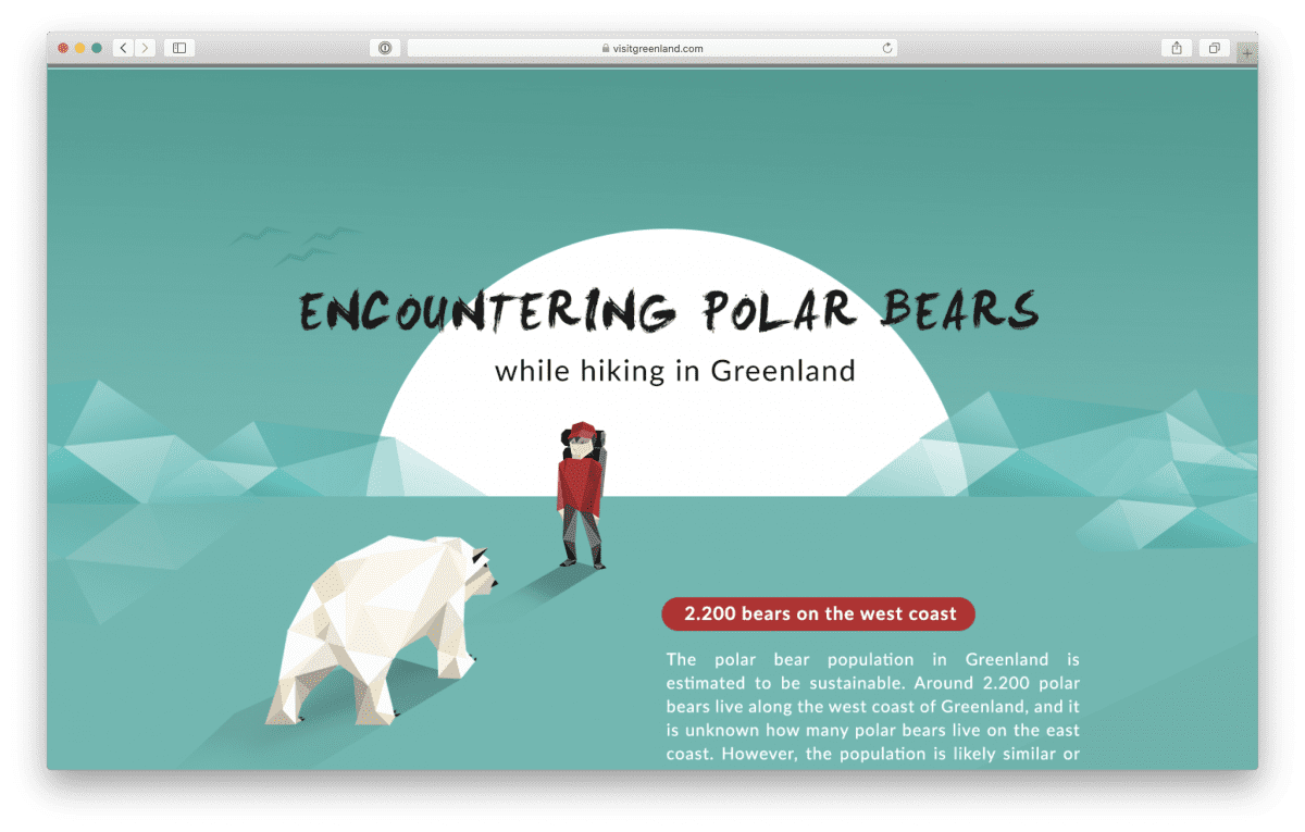Encountering Polar Bears by Visit Greenland