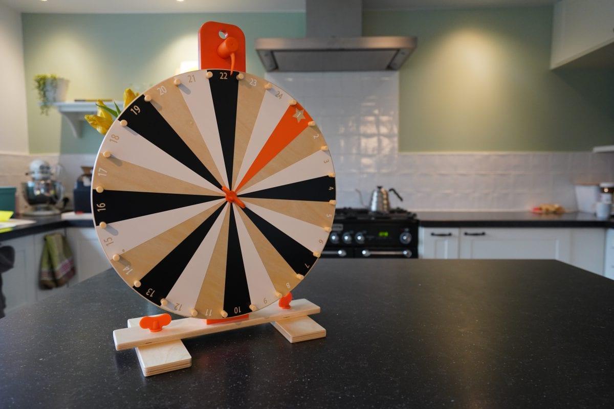 Doings: Wheel of fortune for kids